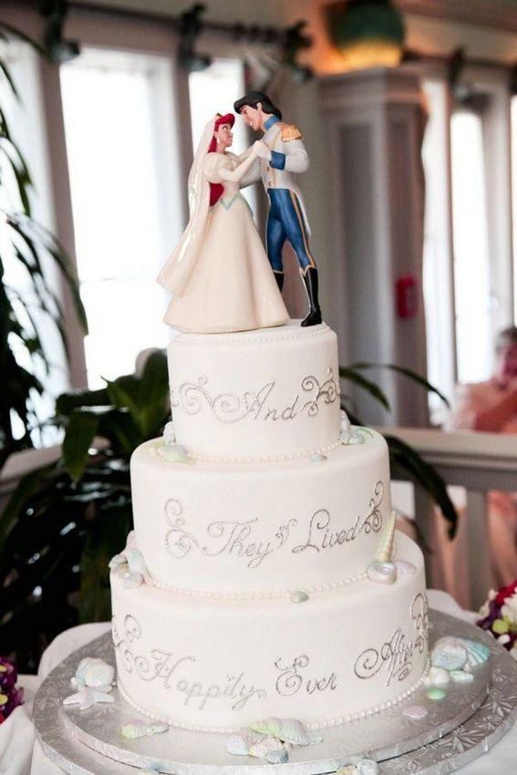 Top 21 Disney Wedding Cakes | Wedding Celebration