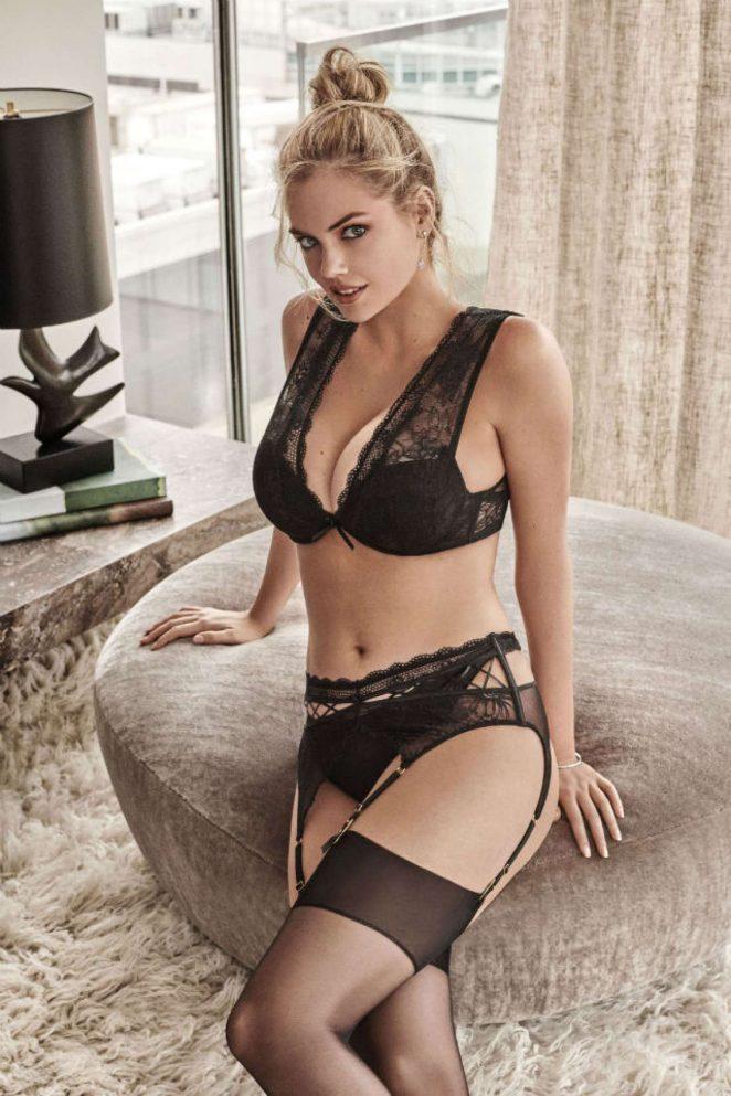 Американська супермодель Кейт Аптон в рекламі нової колекції білизни для Yamamay.