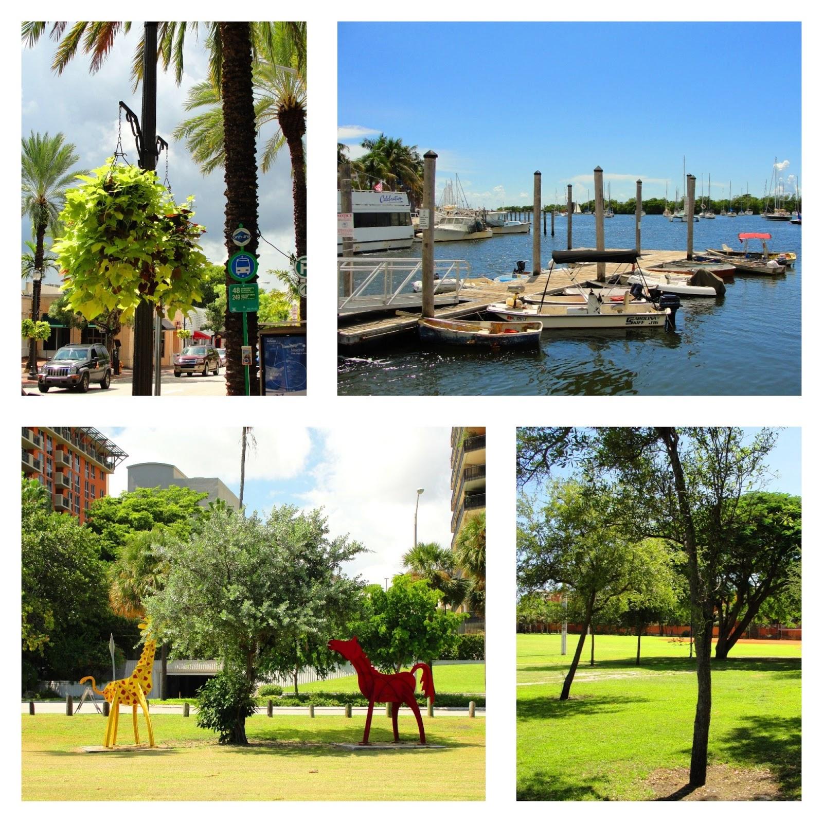 Coconut Grove, bairro de Miami na Flórida.