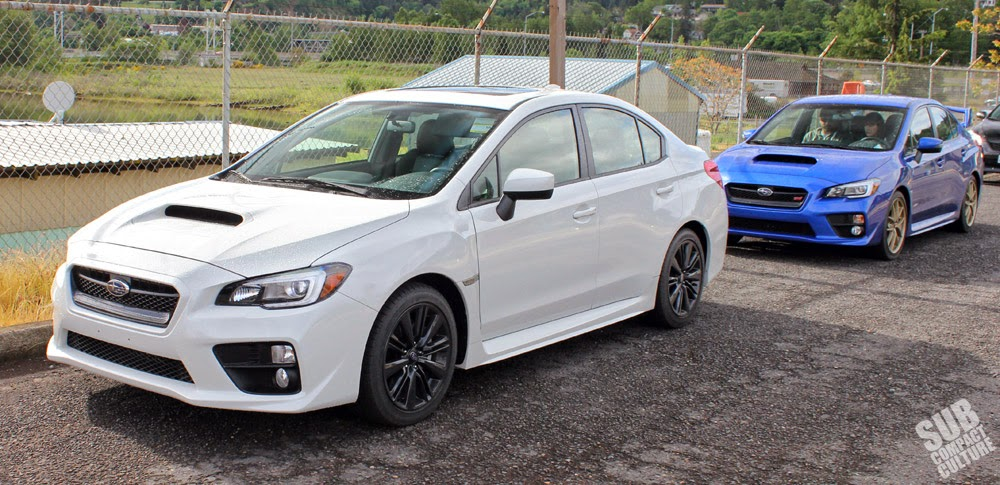 2015 WRX Limited and 2015 WRX STI Launch Edition