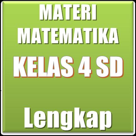 Materi Pelajaran Matematika Semester 1/2 SD/MI Kelas 4
