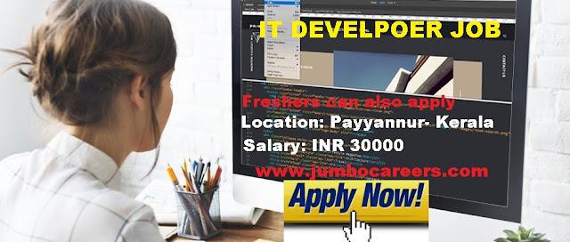 IT Jobs Kerala Salary.
