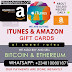 Best Offer! Sell Your ITunes/Amazon Gift Cards, Buy/Sell BITCOIN Here (100% Trustworthy)