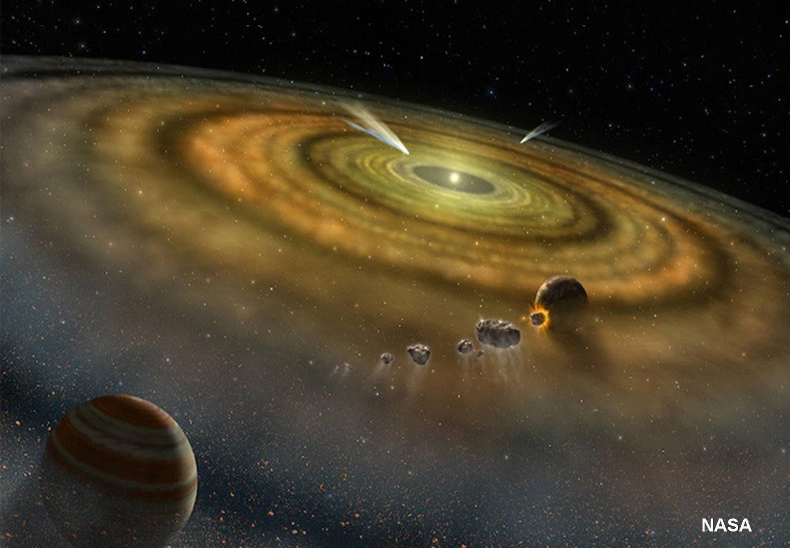 قصة الكواكب !