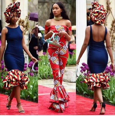 Today Trending Ankara Fashion Styles For Ladies...See more photos