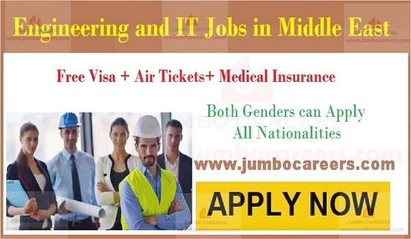 Engineering jobs in Middle east, IT jobs in Middle east,