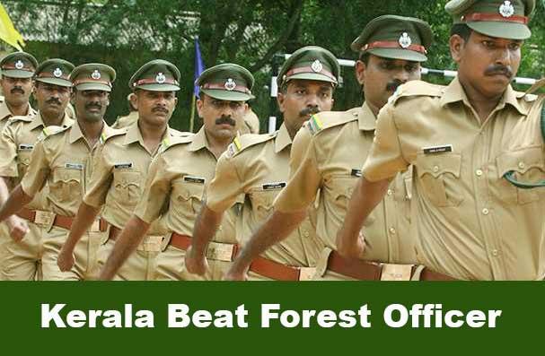 kerala beat forest officer