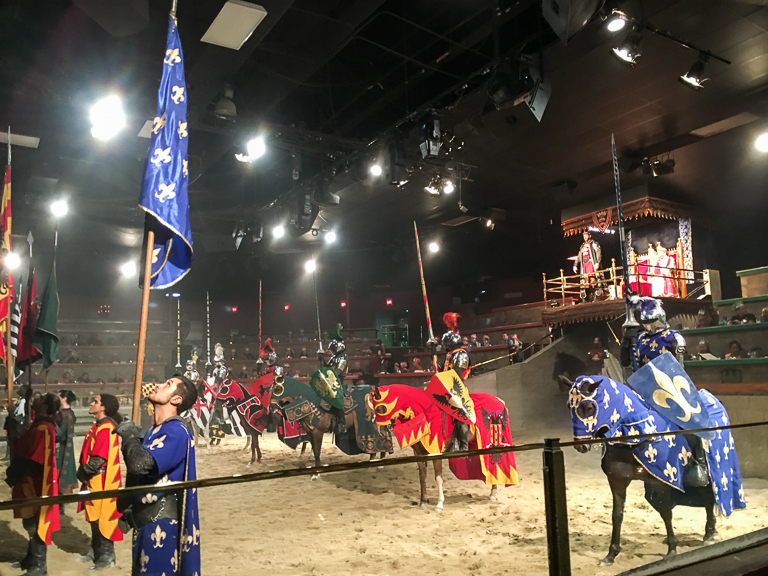 Mar 12,  · Anyone familiar with a Medieval Times knows that it is a dinner theater unlike any other dinner theater. For those who haven't had the privilege to attend, let me fill you in. Not only is it fun, it is amazing. You are transported back in time to, well, medieval times. Kings, Princes, Knights, horses, jousting, wenches and food, food, food.