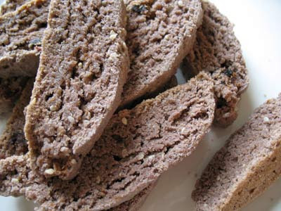 Red Wine Biscotti