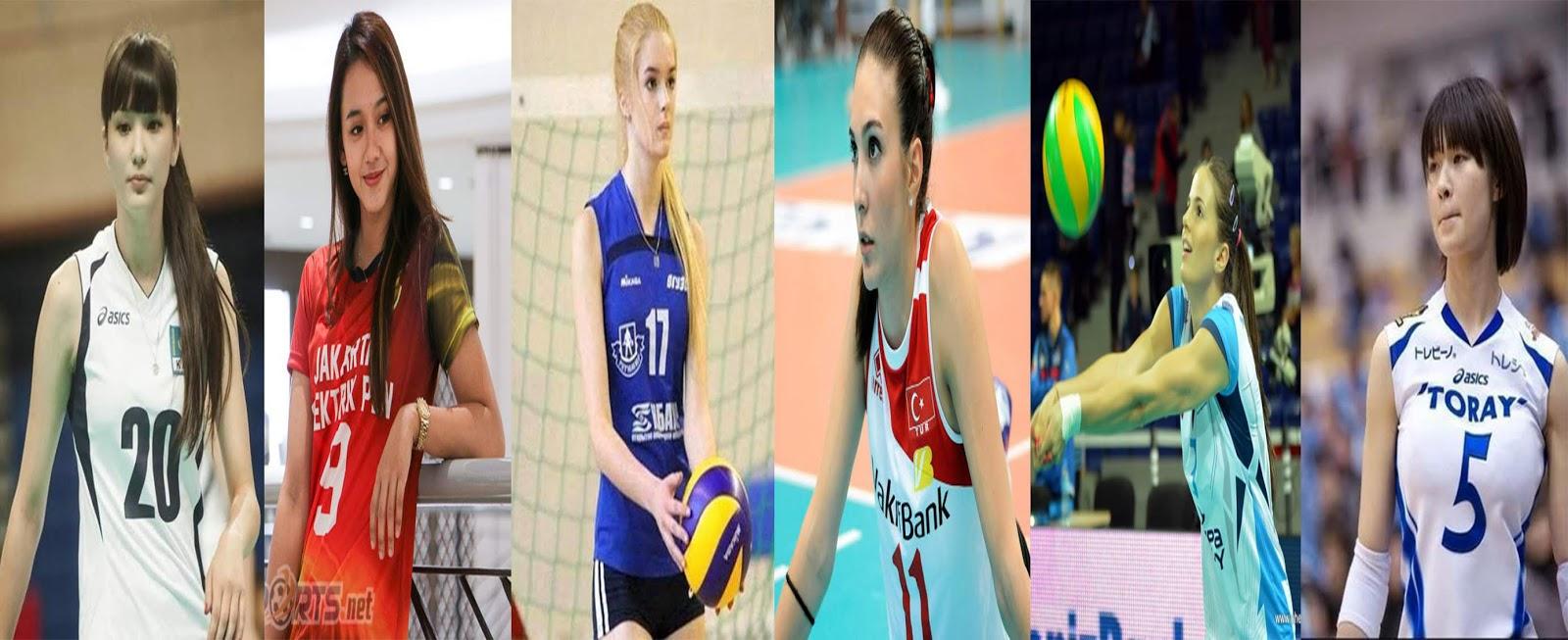 6 Atlet Voli Tercantik di Dunia