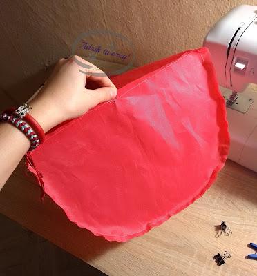 Adzik tworzy - DIY plecak jednorożec jak uszyć