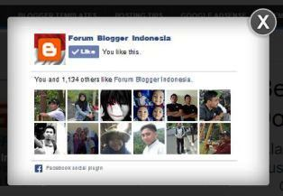 Kotak Popup Facebook Like Page