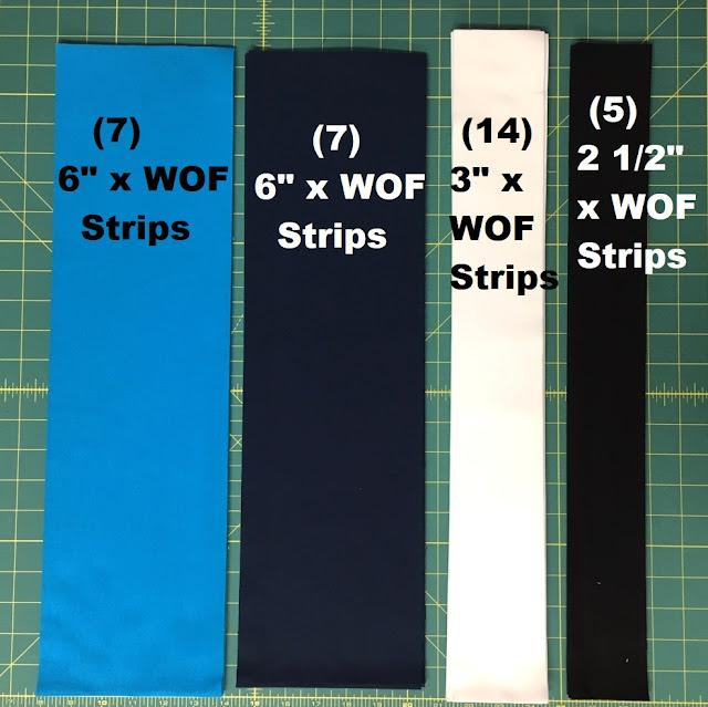 blue navy white black fabric