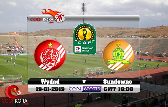 مشاهدة مباراة صن داونز والوداد اليوم 19-1-2019 دوري أبطال أفريقيا