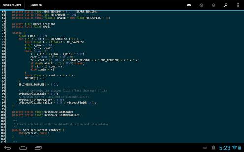 New Apk Update: DroidEdit Pro (code editor) 1 19 1