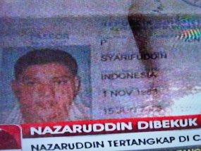 Paspor Palsu ,Nazaruddin ,Gunakan ,Foto ,Orang ,Lain, Dibuat ,di Polonia , Medan