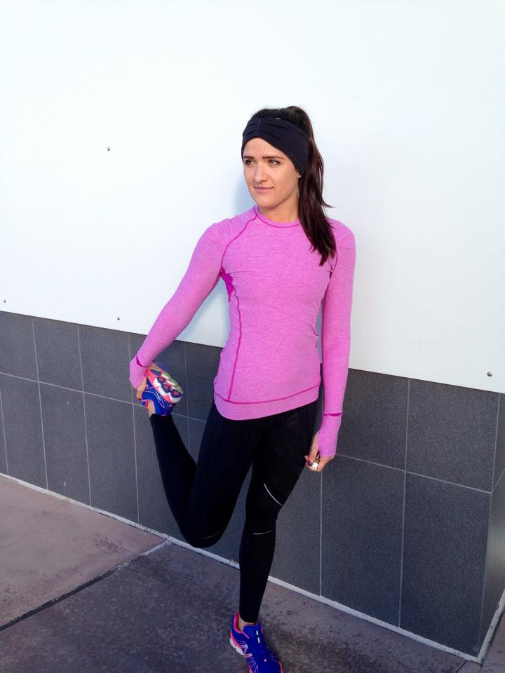 lululemon flurry tight ultraviolet think fast ls