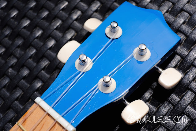 Gear4Music Soprano Ukulele headstock