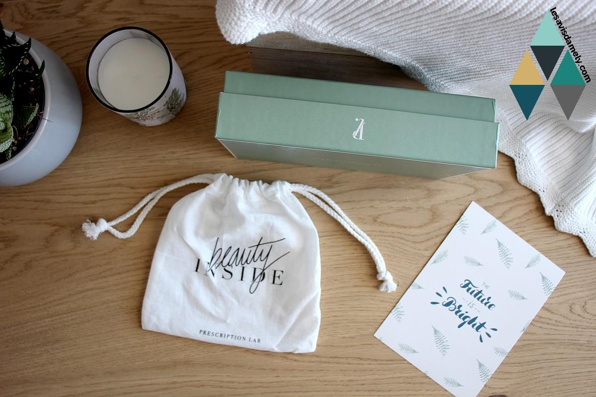 avis et test blog beauté revue box prescription lab