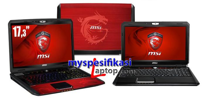 Harga Laptop MSI Gaming Terbaru