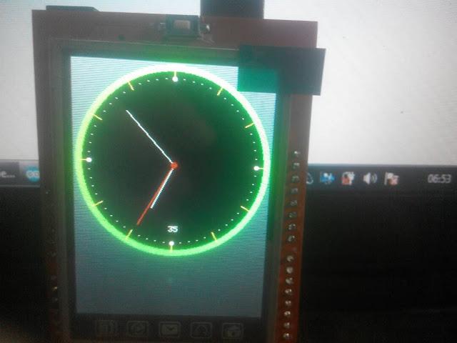 Membuat jam Analog dengan arduino + TFT LCD 2.4 inch