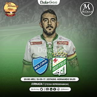 Bolívar vs Oriente Petrolero - Jornada 1 Clausura 2017 - Super Milaneza - Milano Peluqueros - DaleOoo