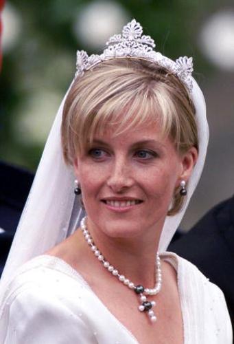 Image result for sarah duchess of york wedding tiara