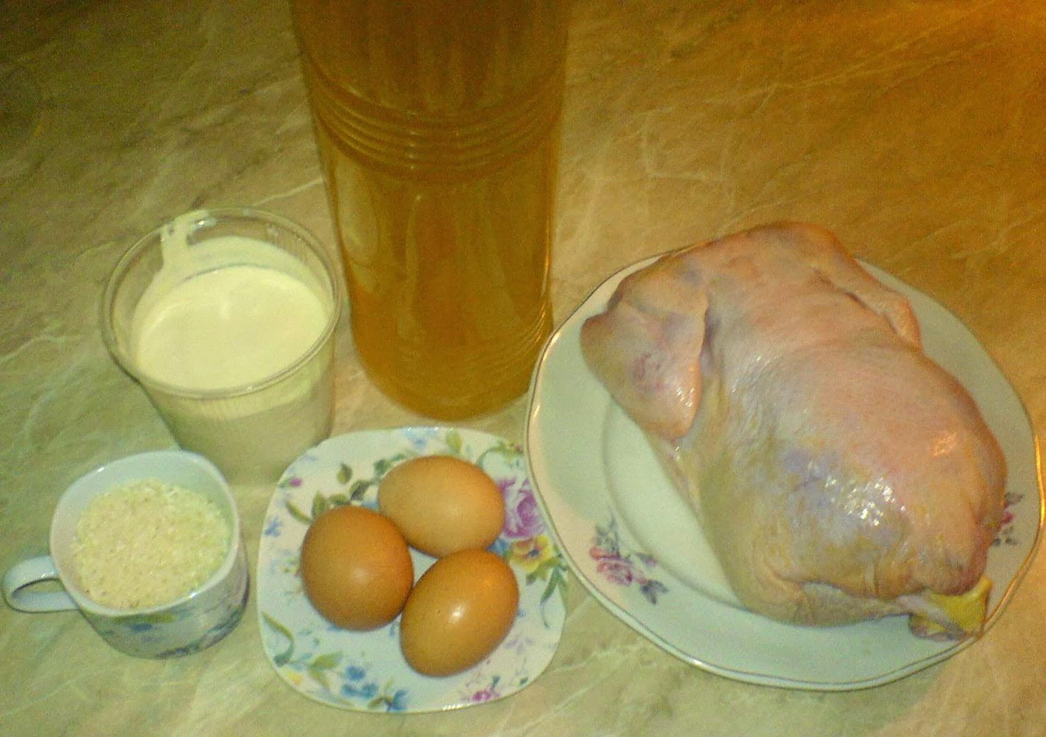 ingrediente ciorba de pui a la grec dreasa cu smantana si oua,