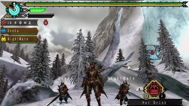 Monster Hunter Portable 3rd HD Ver PPSSPP Game ISO Gameplay