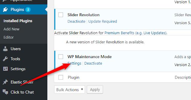 Cara Membuat Maintenance Mode (Coming Soon) di WordPress