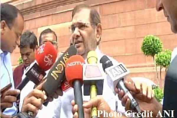 sharad-yadav-told-jdu-bjp-alliance-unfortunate-in-bihar
