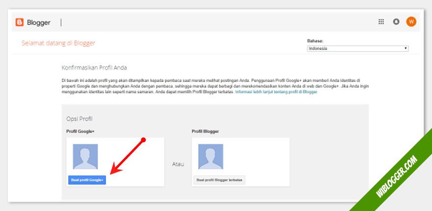 menyiapkan profil google plus untuk blog