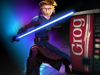 Gubrush threepwood as a jedi