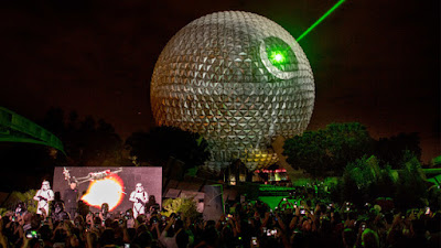 EPCOT becomes the Deathstar