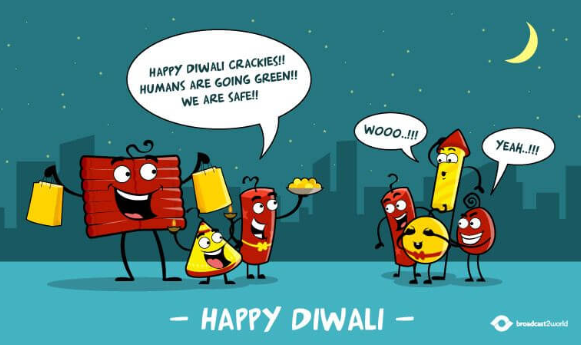 Happy Diwali in Advanced