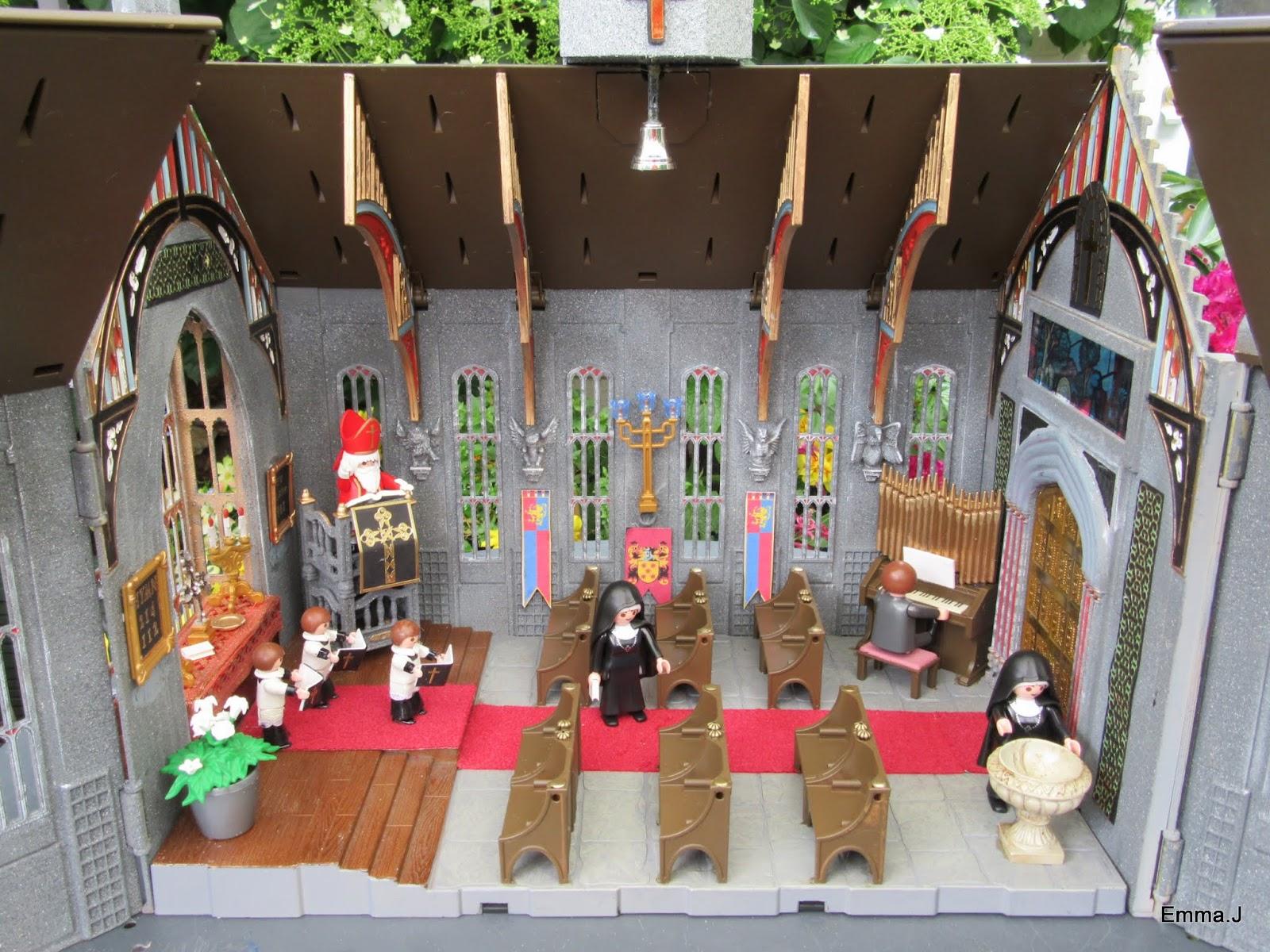 Large Church Emma J S Playmobil