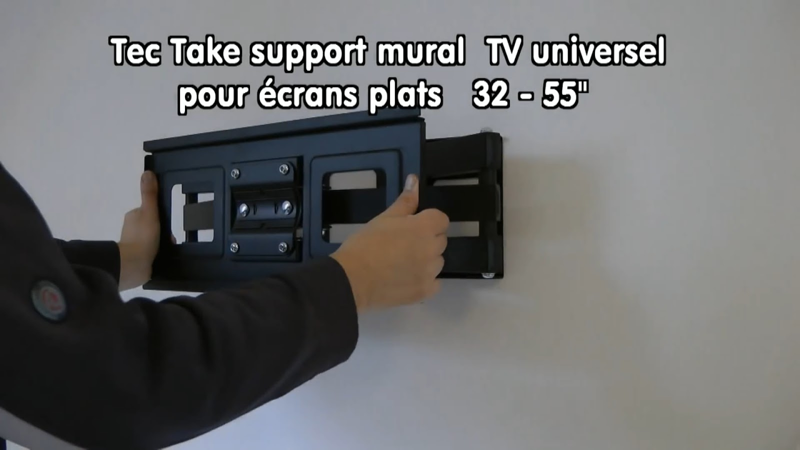 Support Tv Mural Placo Fixer Un Support Mural Pour Tv Tuto Support Mural Sur