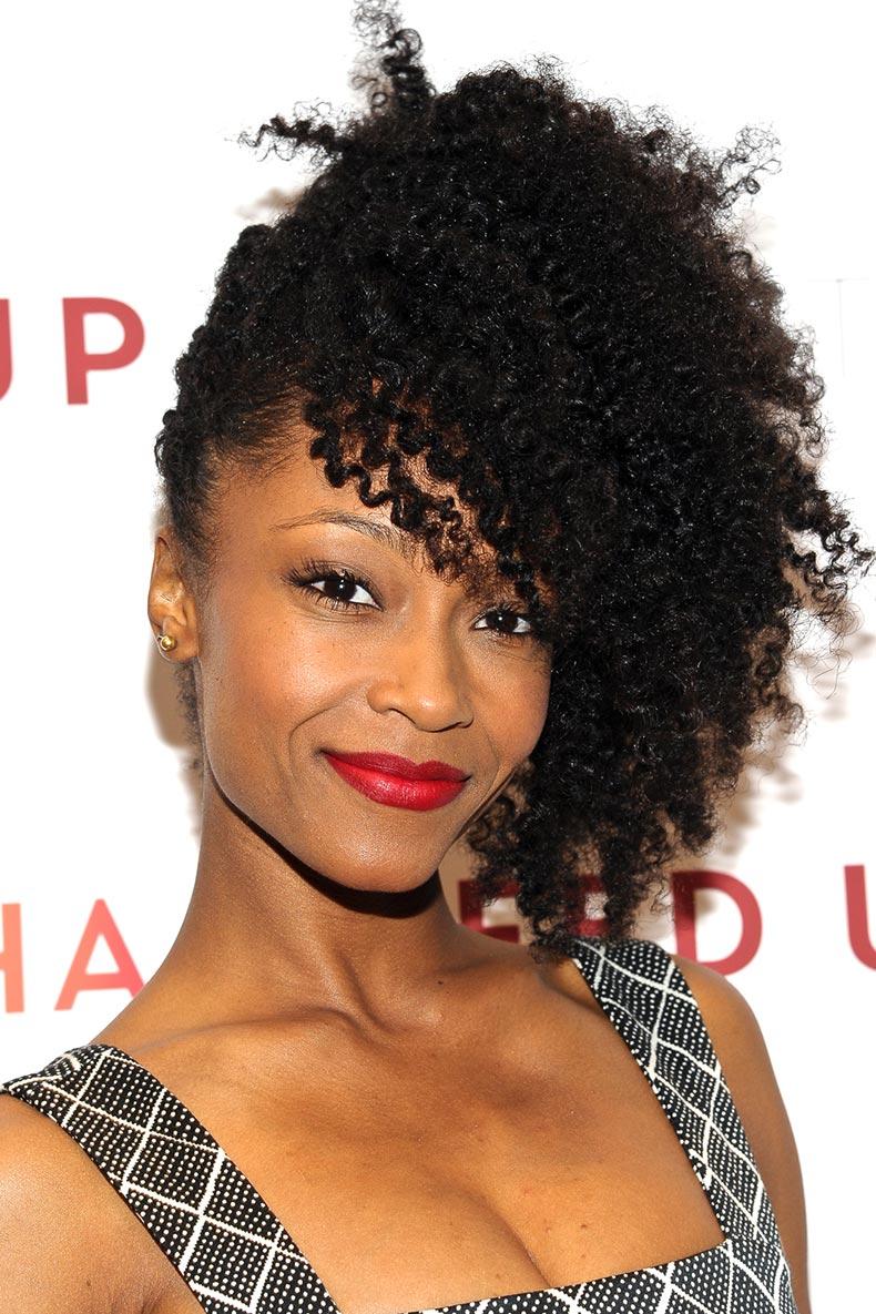 Rápido y fácil peinados para pelo afro Imagen de ideas de color de pelo - La moda en tu cabello: Peinados cabello Afro 2016