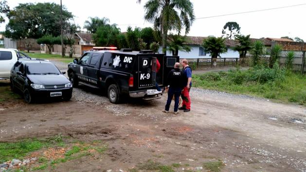 Polícia Civil prende três traficantes em Marcílio Dias