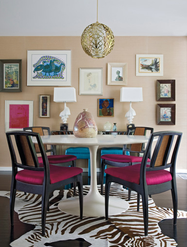 Jodie carter design casual dining rooms for Belle maison interieur design