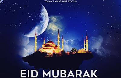 100 Eid Mubarak Quotes Status for WhatsApp in English