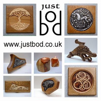 Justbod Celtic Viking and Mythical Artwork