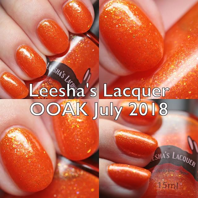 Leesha's Lacquer OOAK July 2018