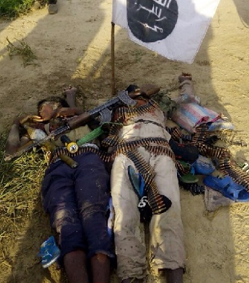 Again, 2 Boko Haram Commanders, Many Others Killed At Sambisa, See Photo