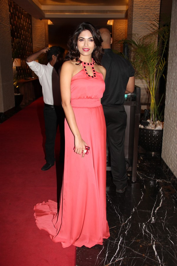 Rosy sparkling Parvathy omanakuttan at siima awards pre party
