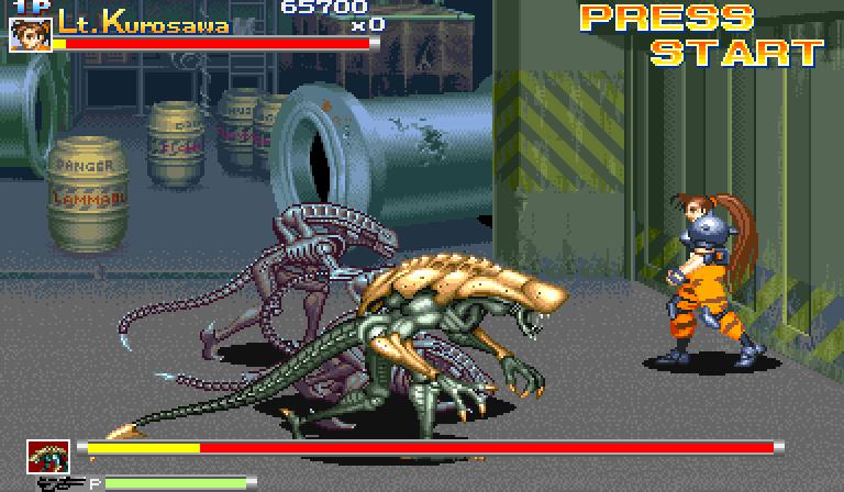 Alien vs predator video game