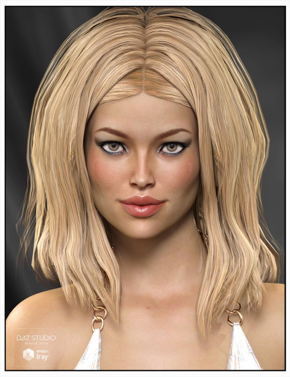 Hair daz3d 4
