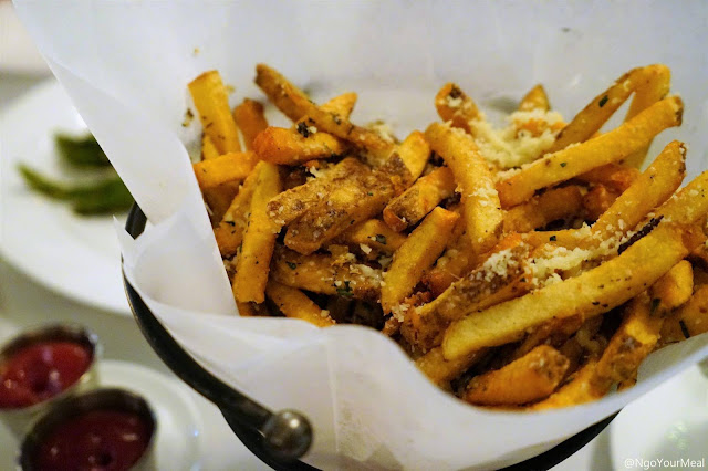 House Cut Fries at Marliave in Boston