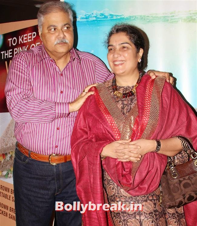 Satish Shah, Genelia, Sonal, Karishma at Yellow Film Special Screening