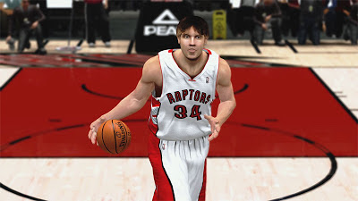 NBA 2K13 Aaron Gray Face Player Update